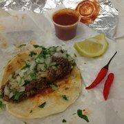 Tacos Mexico - Mi amigo gave me some muy picante peppers con mi tacos - Los Angeles, CA, Vereinigte Staaten