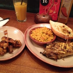 Peruvian grilled 1/4 chicken, 3 wings,…