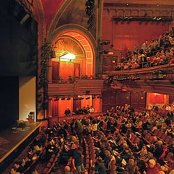 American airlines theatre new york ny united states view from the