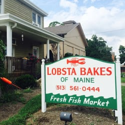 Lobsta bakes of maine 10 photos seafood markets for Fish market cincinnati