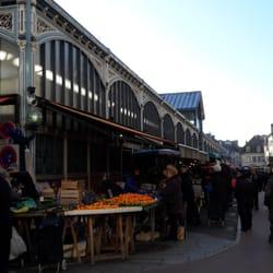 Marché central - Dijon, Côte-d'Or, France