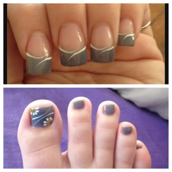 Chez Bella Nails & Spa - Marlborough, MA, United States. Mani pedi