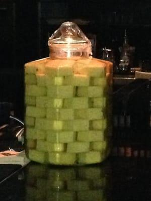 Stoli Doli...pineapples soaking in vodka...yum! | Yelp