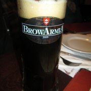 A lovely stout at Browarmia Królewska
