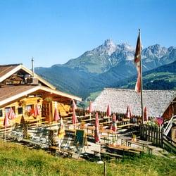 Jausenstation Moosalm, Filzmoos, Salzburg, Austria