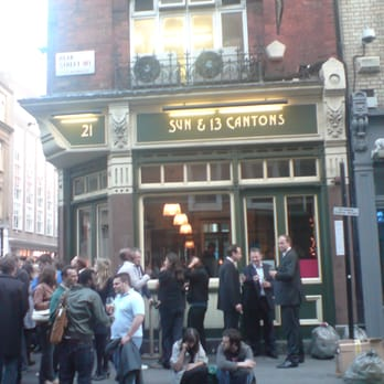 The Sun and 13 cantons