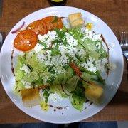 Gartensalat mit Feta
