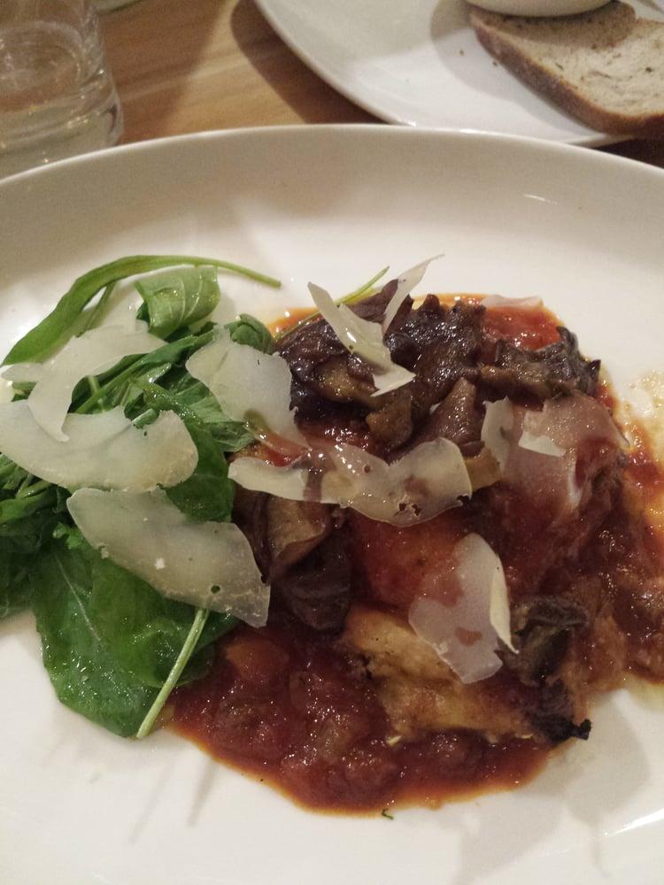 Polenta Casserole With Fontina And Tomato Sauce Recipes ...