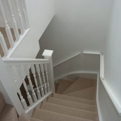 New Staircase Leading to New Master Room En-Suite