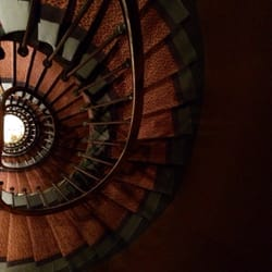 Narrow winding stairs if you don't want…
