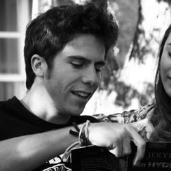 Juan and Ariana in Trinity