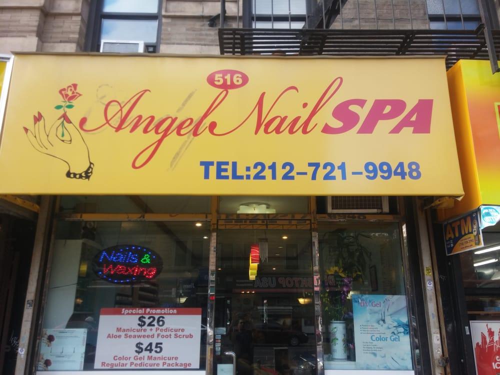 Angel nail spa nagelstudio upper west side new york for 24 hour nail salon atlanta