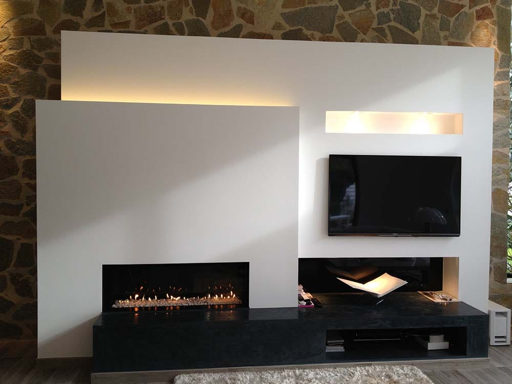chemin e gaz design installation de chemin e cr ation sur mesure foyer gaz sur le var http. Black Bedroom Furniture Sets. Home Design Ideas