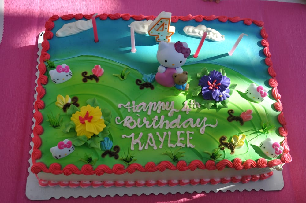 Hello Kitty Sheet Cake Images : Love our Hello Kitty Cake (1/2 sheet for USD69). Fresh ...