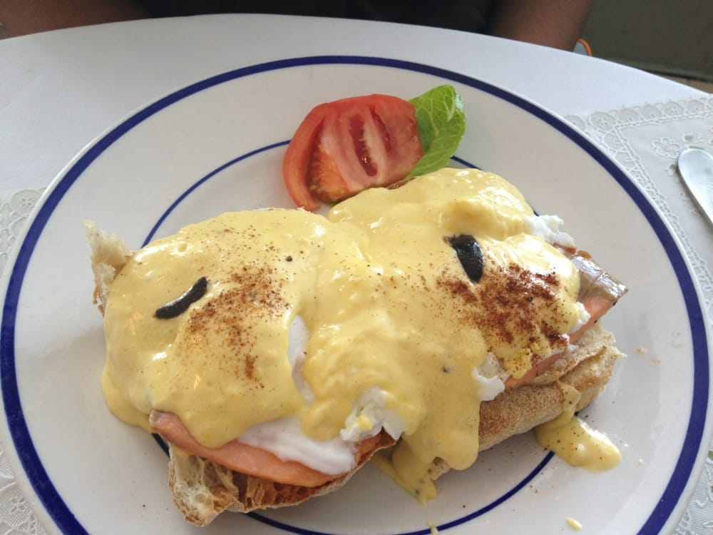 ... Beach, FL, United States. Nova Scotia Eggs Benedict (w/ smoked salmon