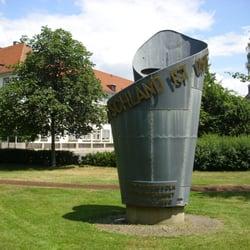 Mahnmal zur Deutschen Einheit, Erlangen, Bayern