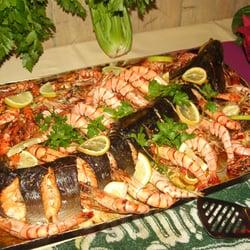 Buffet Lachs oder Thunfisch