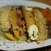 Taco, flauta, enchilada