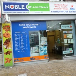 Noble Travel & Money Exchange, London