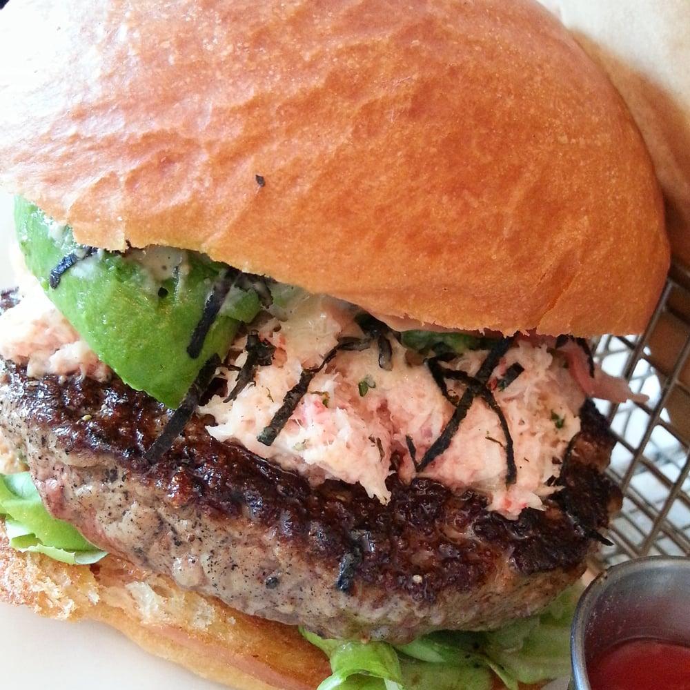 burger california roll salmon california roll burger as california ...