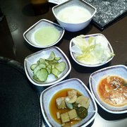 Bicycle & Gogi Restaurant - Side dishes ... Yummy! - Los Angeles, CA, Vereinigte Staaten