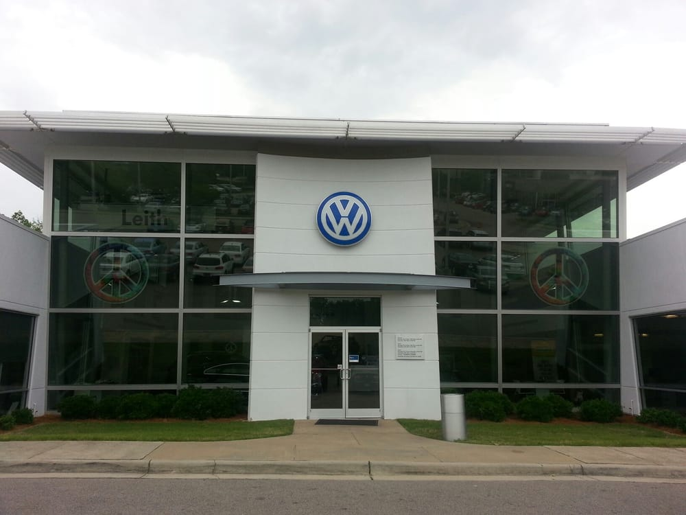 leith volkswagen  cary car dealers  auto park blvd cary nc reviews  yelp