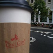 The Chai Cart - From across the street at the creme brûlée cart - San Francisco, CA, Vereinigte Staaten