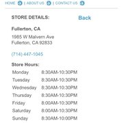 Cheap online clothing stores Ross clothing store hours