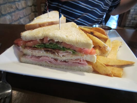 Classic Club Sandwich Recipe — Dishmaps