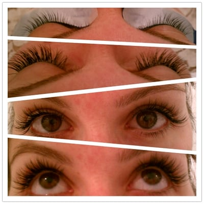 Eyelash Extensions Asian Eyes Mink eyelash extensions, cute