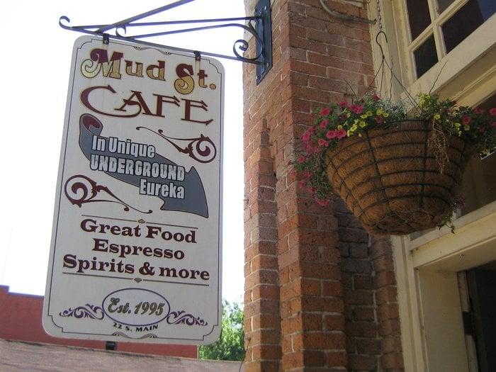 Mud Street Cafe Menu