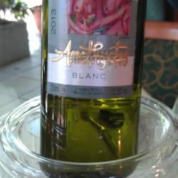 Ein sehr guter weißer, Griechischer Wein…