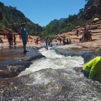 Natures Water Slide In Arizona