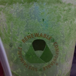 Refuge Smoothie Cafe - Milwaukee, WI, États-Unis. green! will allen smoothie (thx rachel for the tip!:)