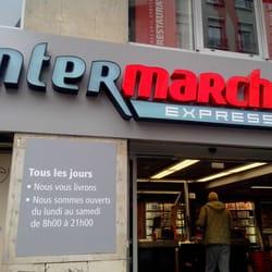 intermarch express paris france. Black Bedroom Furniture Sets. Home Design Ideas