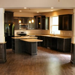 ... Plover, WI, United States. Maple Cabinetry with Granite Countertops