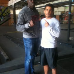 City of Angels Boxing - Cheick Congo UFC fighter! - Los Angeles, CA, Vereinigte Staaten