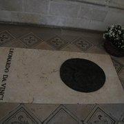 Túmulo de Leonardo da Vinci na capela de…