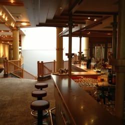 Bar und Eingang zum Wellnessbereich