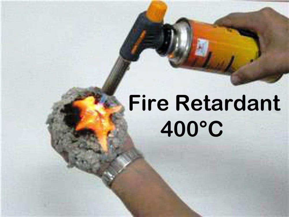 100 borate fire retardant more effective than fiberglass for Fiberglass insulation fire resistance