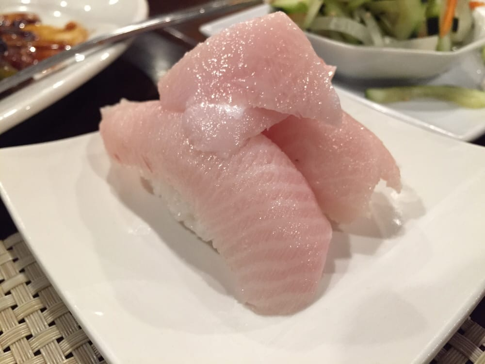 Yellowtail Belly Sushi Yellowtail belly sushi