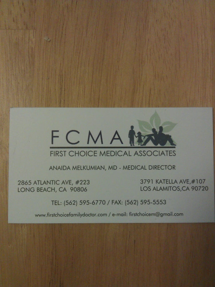First choice medical associates family practice long for First choice family
