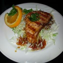 Kai Sushi - Dinner for Champions-salmon teriyaki appetizer - Poway, CA, Vereinigte Staaten