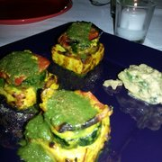 Devi - New York, NY, États-Unis. Paneer & Zucchini Tikka