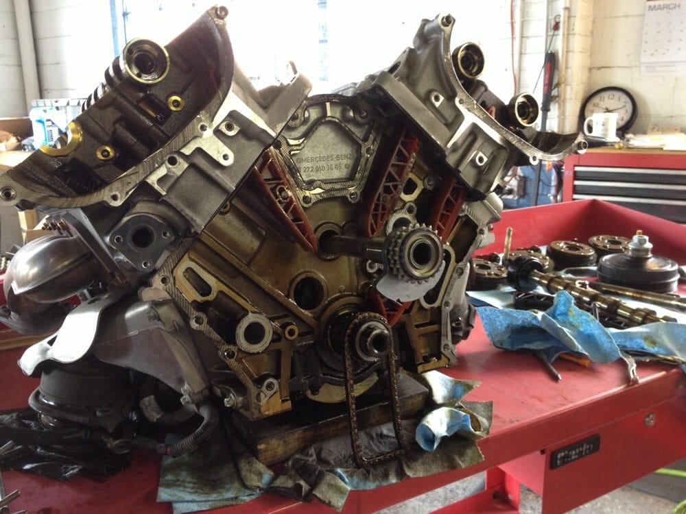 Mercedes balance shaft repair for Mercedes benz m272 engine
