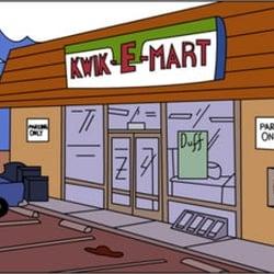 Kwik-E-Mart logo