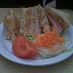 Bayview ham and cheese toastie