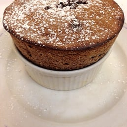 Most delicious thing I have eaten to this day... A MUST have chocolate souffle!