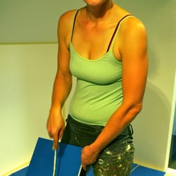 Künstlerin Sabine Auer im Frauen Museum