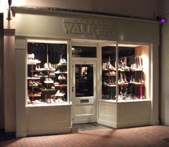 Streetwalkers Shoe Shop Brighton